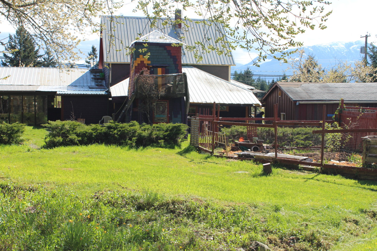 Denman Guesthouse back side